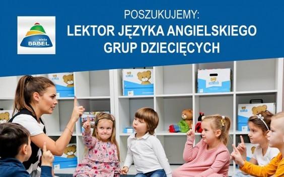 Poszukujemy lektorów języka angielskiego!